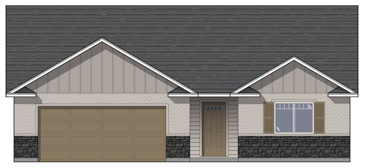 1469-Cascade-Front Elevation