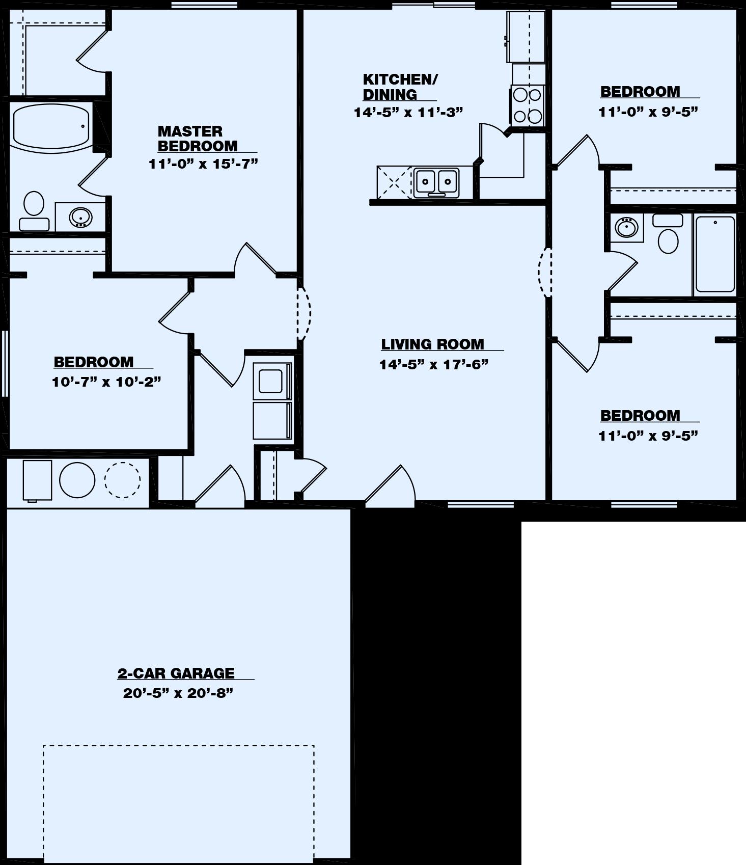 Anchorage Floor Plan