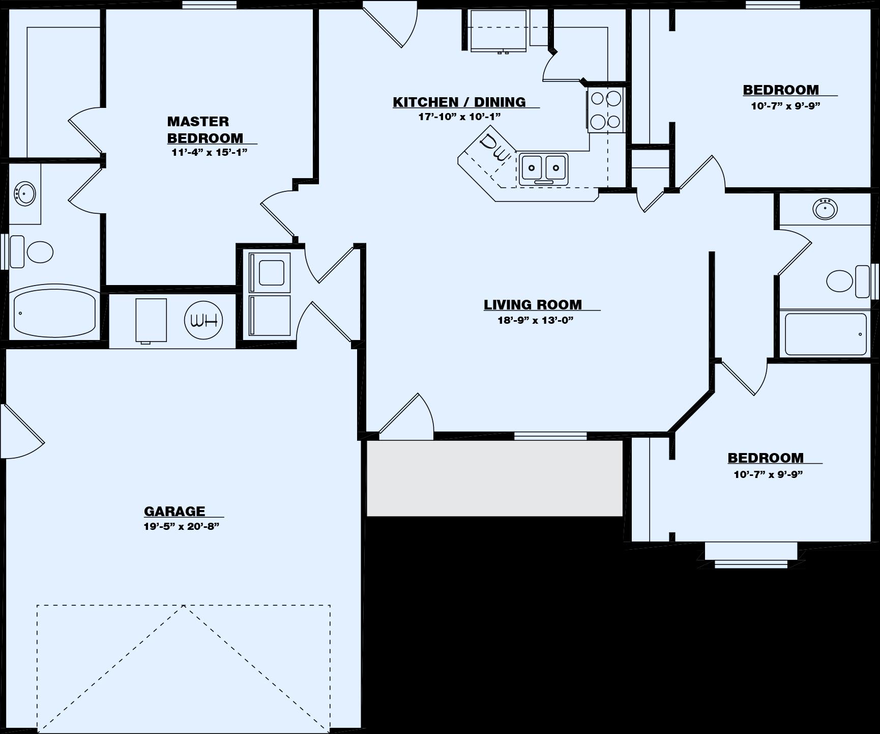 Links Floor Plan