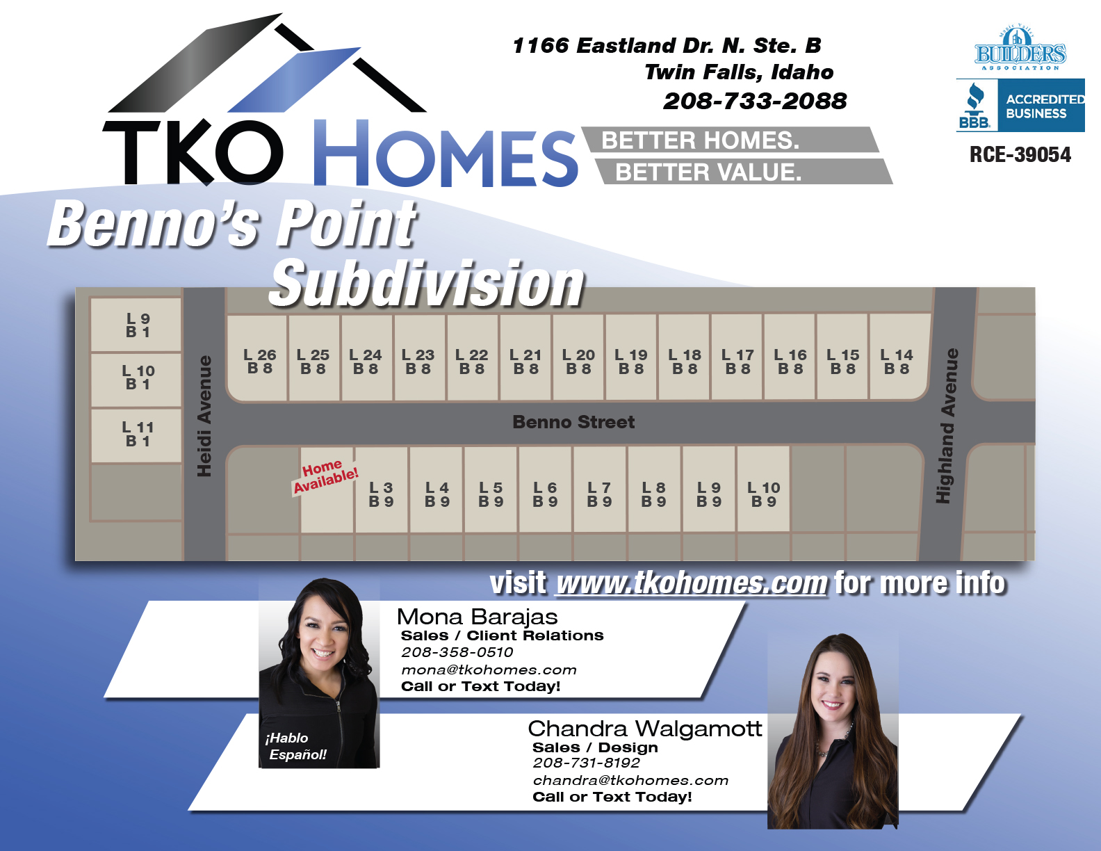 Benno's Subdivision Flyer for Website